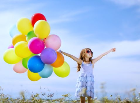 Photo free balloon, childhood, children