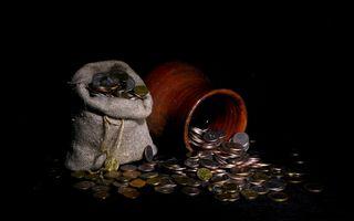 Фото бесплатно деньги, мешки, мешки с золотом