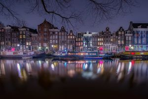 Photo free illumination, Amsterdam, architecture