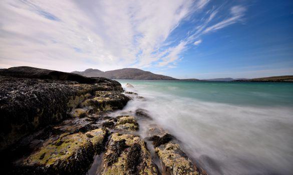 Заставки морской пейзаж, скалы, природа