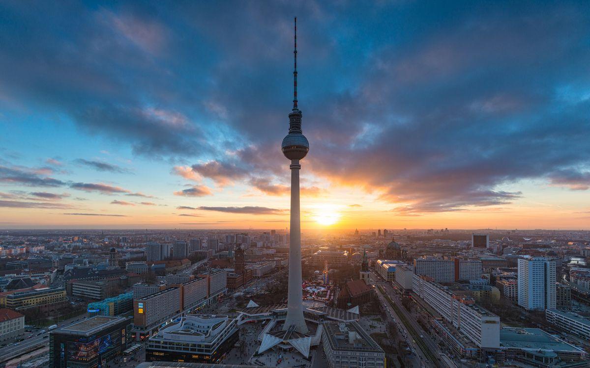 Телебашня в Берлине · бесплатное фото
