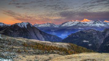 Фото бесплатно горы, Wallis, Швейцария