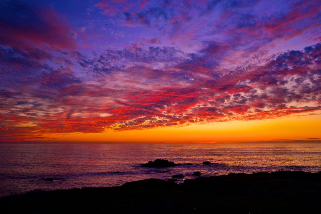 Фото бесплатно штат Калифорния, небо, океан - на рабочий стол
