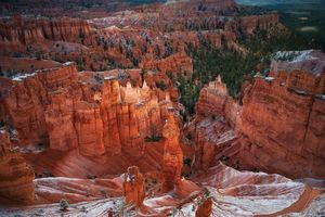 Photo free landscape, Bryce Canyon, cliffs
