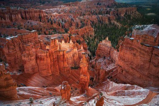 Photo free landscape, Bryce Canyon, cliffs