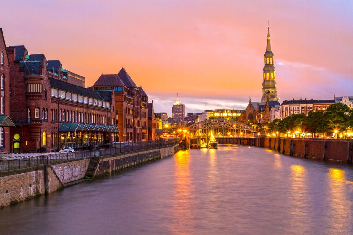 Фото бесплатно город, архитектура, Гамбург - на рабочий стол