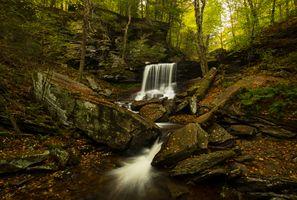 Фото бесплатно скалы, осень, камни
