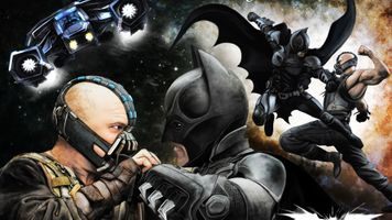 Заставки Бэтмен, Бэйн, Супергерои