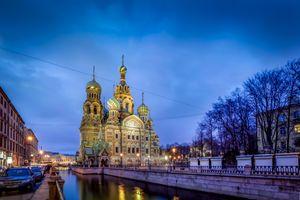 Фото бесплатно Церковь Спаса на Крови, Санкт-Петербург, Россия