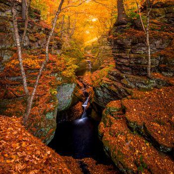 Photo free wisconsin, autumn, waterfall
