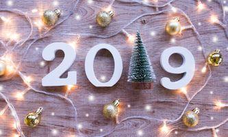 Фото бесплатно Новогоднее украшение, новогодняя дата, с новым годом