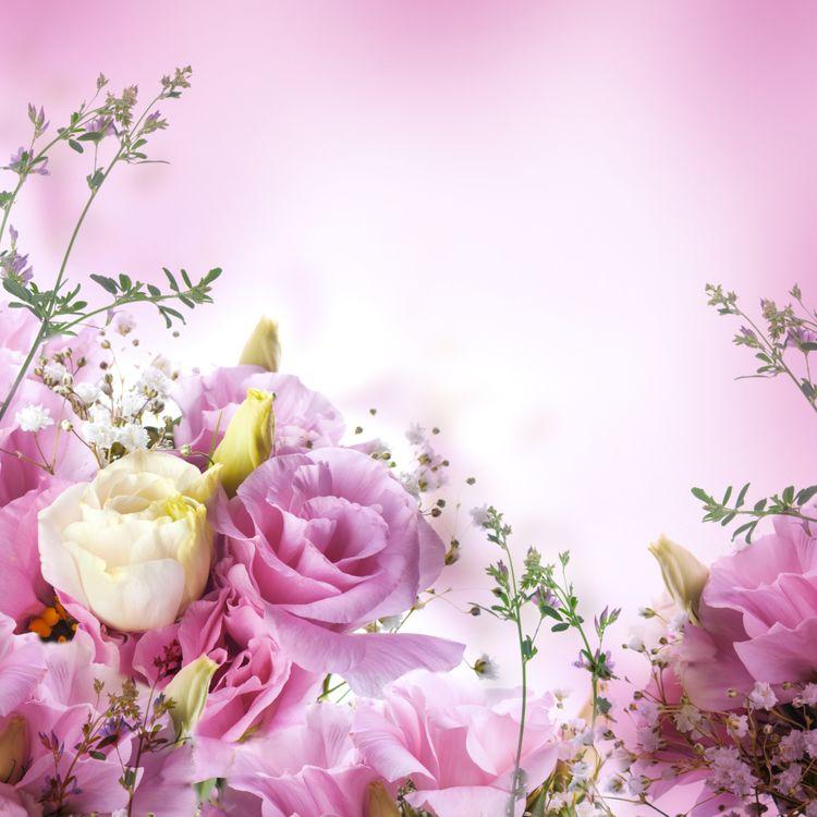 Картина с розовыми розами · бесплатное фото