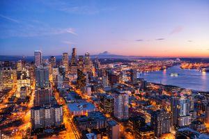 Заставки Сиэтл, город, мир