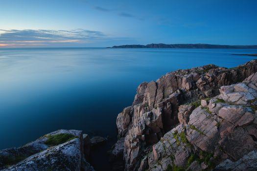 Скалистый берег Баренцева моря · бесплатное фото