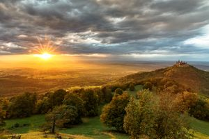 Фото бесплатно пейзаж, горный холм, небо