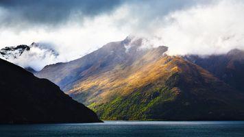 Заставки mountains,lake,landscape