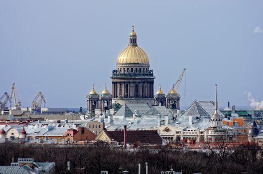 Фото бесплатно архитектура, купол, краны