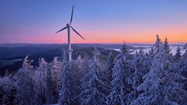 Фото бесплатно Шварцвальд, пейзаж, облака