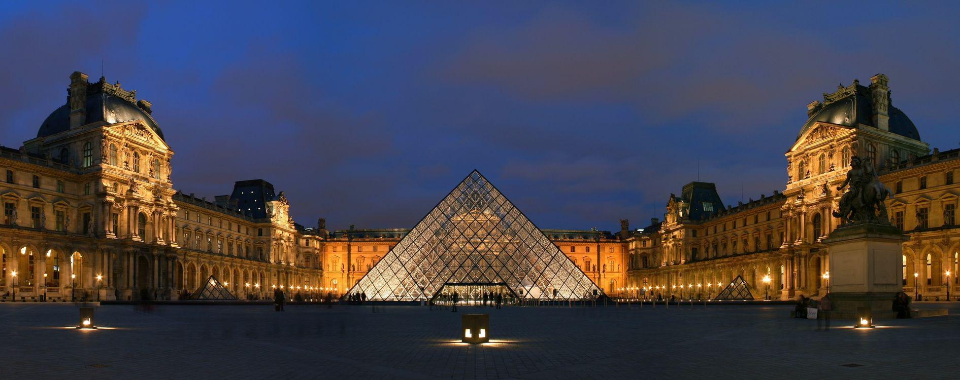 Лувр в Париже · бесплатное фото