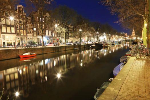 Фото бесплатно вечер, водный путь, закат