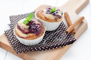 Бесплатные фото кексы,выпечка,десерт,пирожки,салфетка