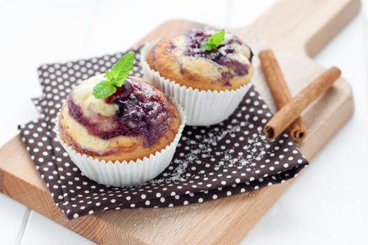 Фото бесплатно кексы, выпечка, десерт, пирожки, салфетка