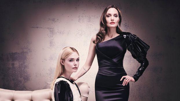 Photo free Elle Fanning, Angelina Jolie, celebrities