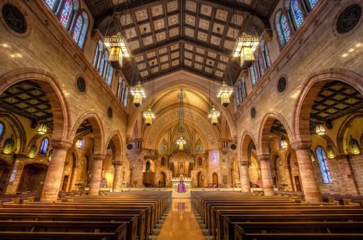 Фото бесплатно Католическая церковь Святого Духа, Денвер, Колорадо