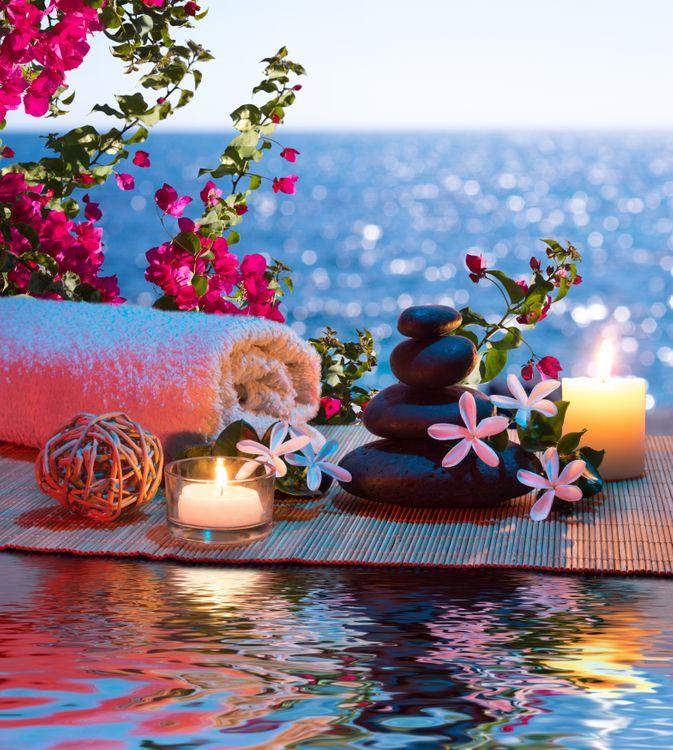 Фото бесплатно романтик, камни, огонь - на рабочий стол