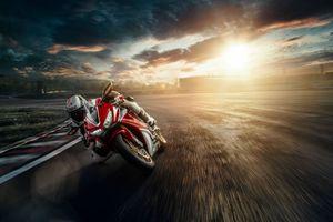 Заставки Honda, мотоцикл, скорость