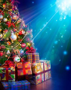 Фото бесплатно элементы, новогоднее настроение, рождественские украшения