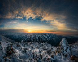 Фото бесплатно Bulgaria, горы, закат