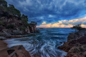 The sea in Spain · free photo