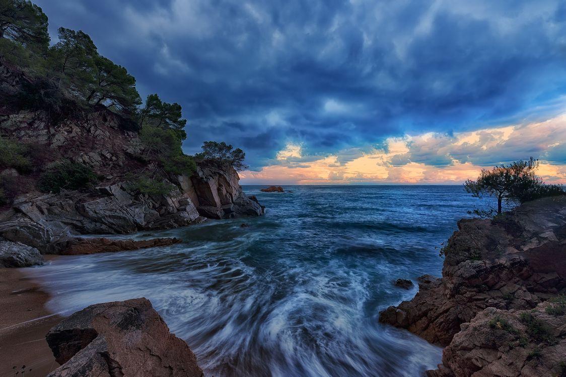 Море в Испании · бесплатное фото