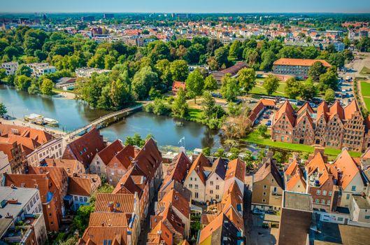 Photo free Lubeck, the Hanseatic city, historically
