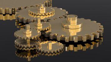 Photo free 3d, mechanism, reflection