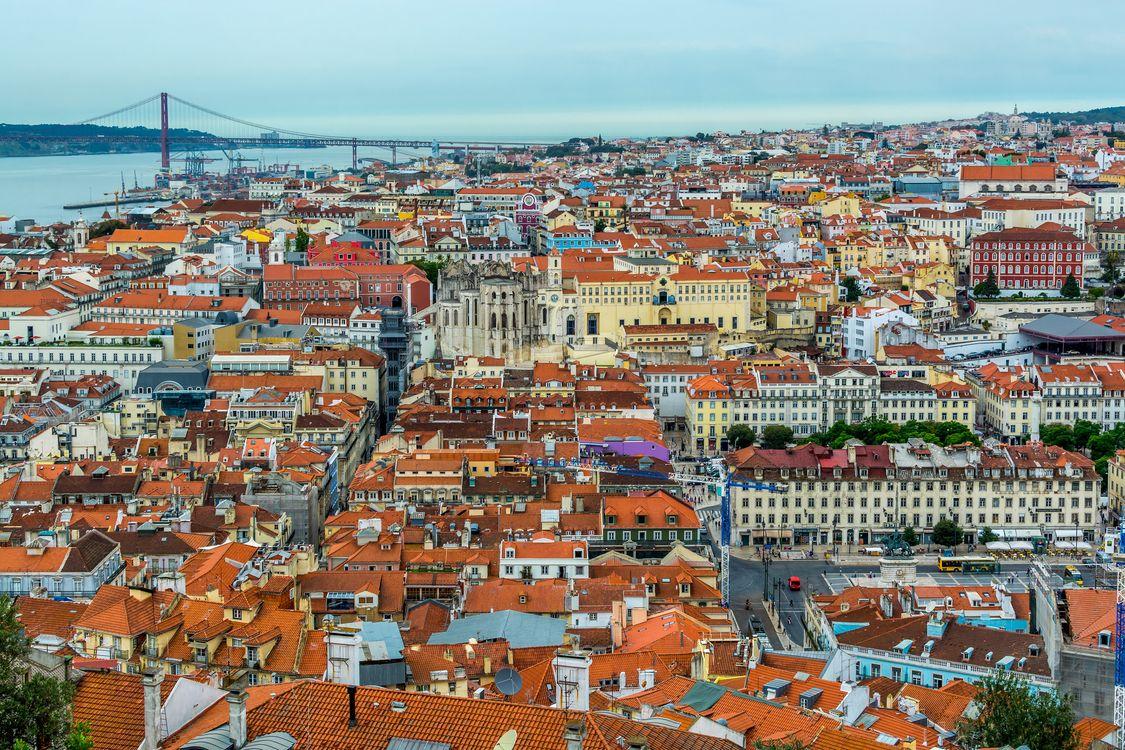 Фото бесплатно Лиссабон, Португалия, город - на рабочий стол