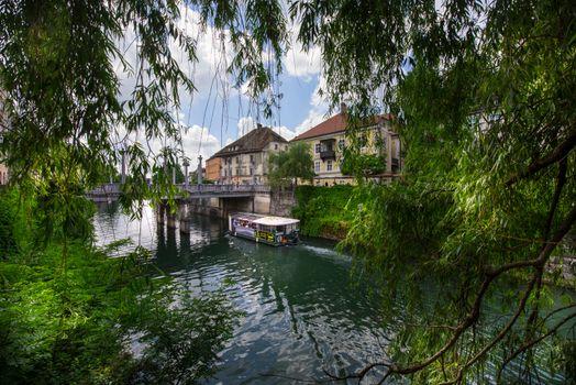 Заставки река, Любляница, river