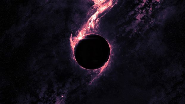 Заставки черная дыра, туманность, Вселенная