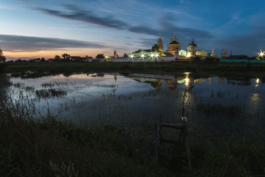 Монастырь в селе Старое Бобренево · бесплатное фото