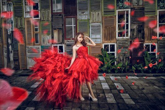 Фото бесплатно гламур, азиатские модели, настроение