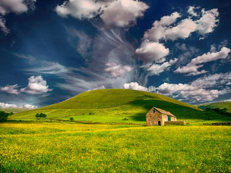 Photo free clouds, countryside, outdoor