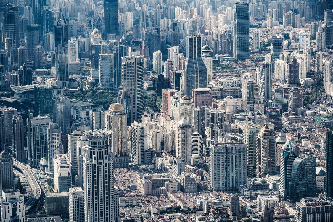 Фото бесплатно небоскребы, городской пейзаж, городской - на рабочий стол