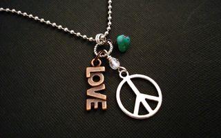 Заставки хиппи, любовь, ожерелья