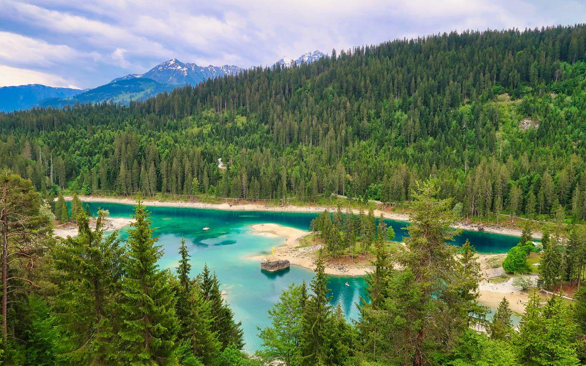 Free photo Blue Lake, Switzerland, lake - to desktop