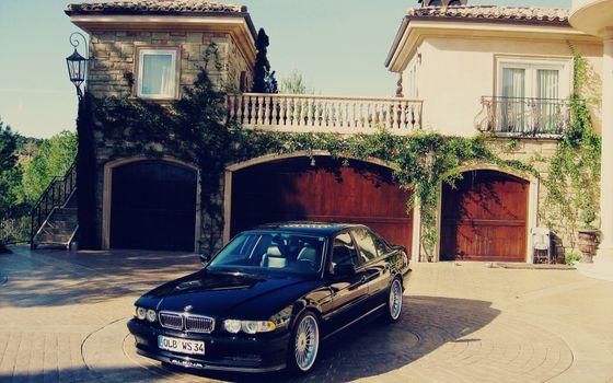 Photo free car, BMW, house