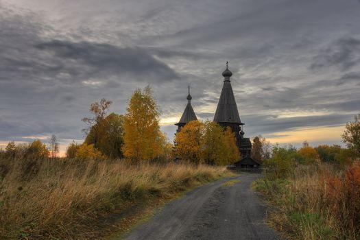 Фото бесплатно Ленинградская область, дер Гимрека, осень
