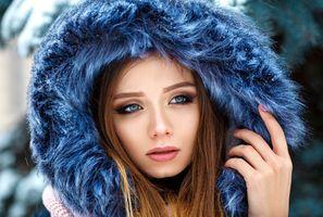 Фото бесплатно портрет, сексуальная девушка, красота