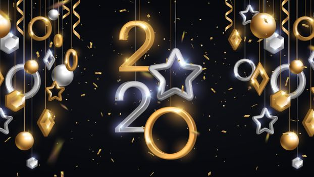 Photo free 2020, new year, stars