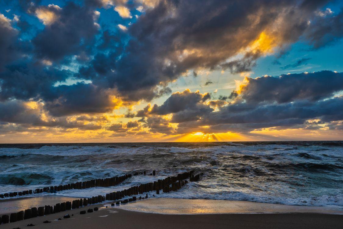 Фото бесплатно облака, пляж, берег - на рабочий стол